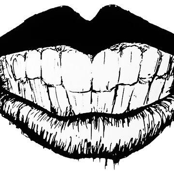 Ink Lips by jackdcurleo
