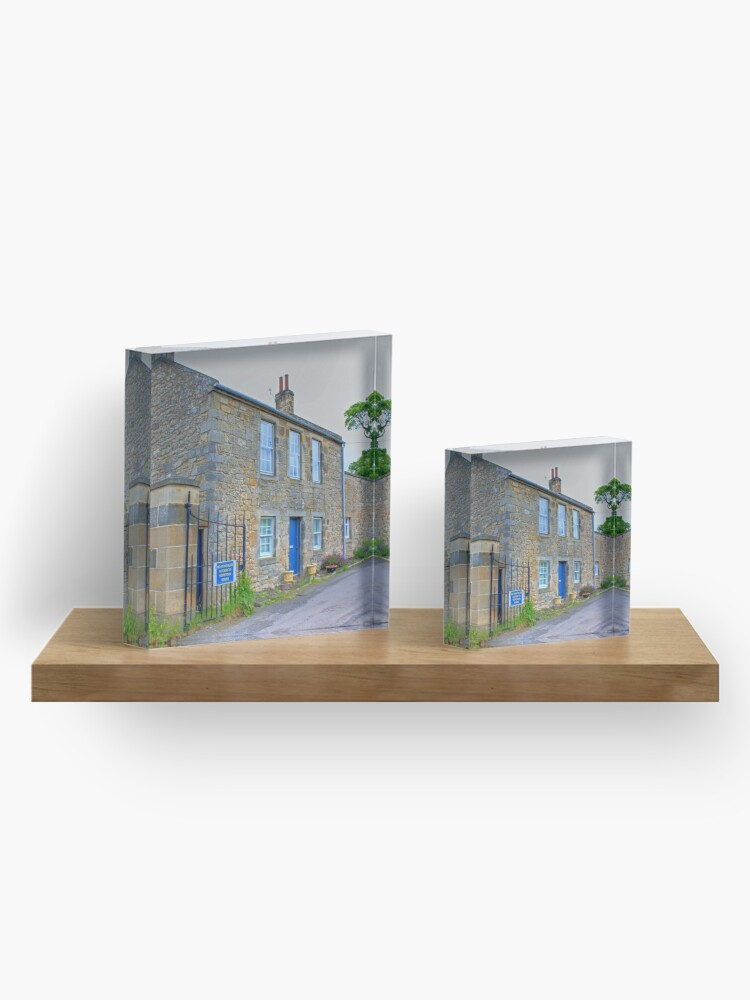 Alternate view of Hopetoun Estate Gatehouse Acrylic Block