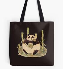 Chubby Panda Tote Bag