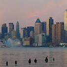 Panoramic Skyline by nfsnyc