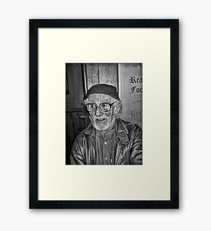 Barry Framed Print