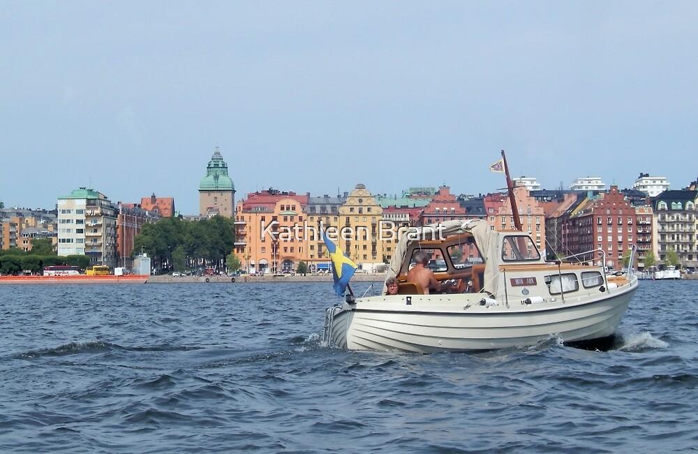 Boating in Stockholm by Kathleen Brant
