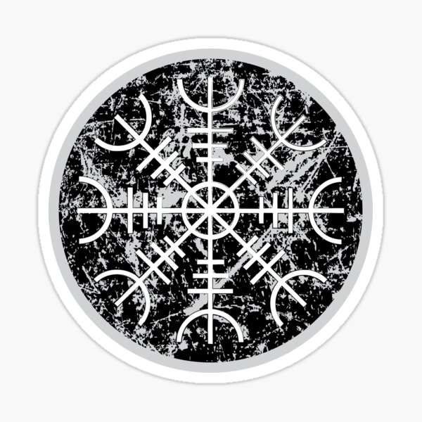 Helm of Awe Sticker