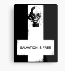 Salvation Is Free Metal Print