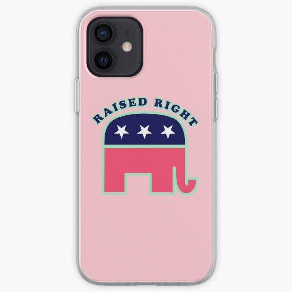 Raised Right  iPhone Soft Case
