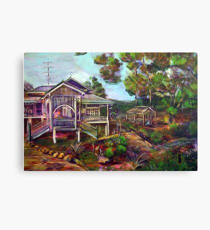 the Mountain Caretakers Canvas Print