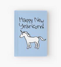 Happy New Yearicorn Hardcover Journal