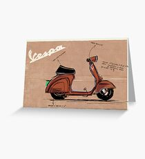 Scoot_illustration Greeting Card