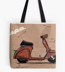 Scoot_illustration Tote Bag