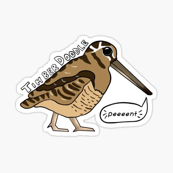 Timberdoodle Sticker