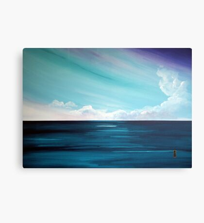 the Weatherman (Serenity) Canvas Print