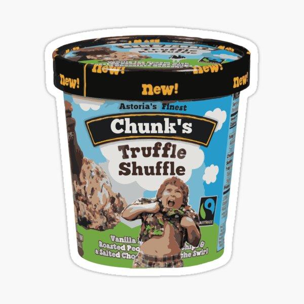 Chunk Truffle Shuffle Ice Cream Sticker