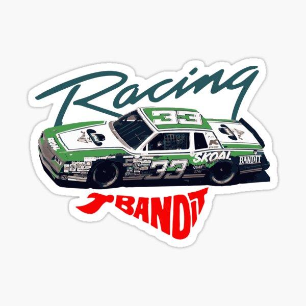 "Vintage Harry Gant ""Skoal Bandit"" Race Car  Sticker"