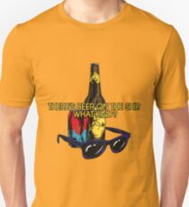What kind of beer? Slim Fit T-Shirt