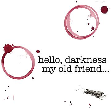 Classic verses: Hello darkness my old friend by FestCulture