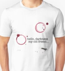 Classic verses: Hello darkness my old friend T-Shirt