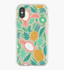 Summer Fruit on Pink iPhone Case