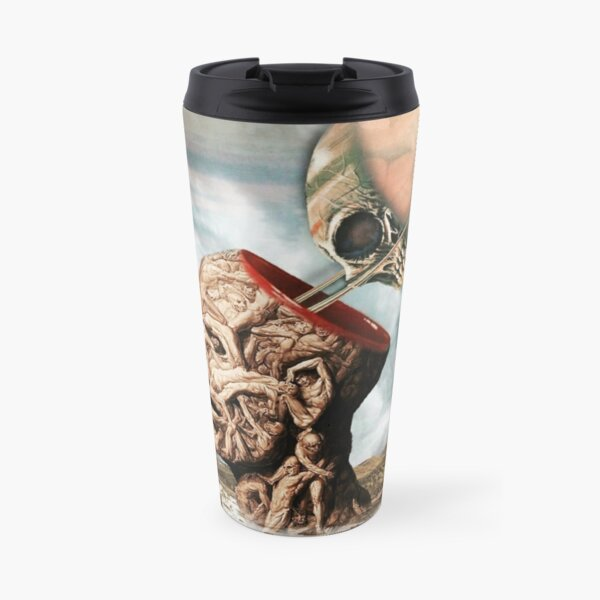 I Have Cultivated My Hysteria With Pleasure And Terror Travel Mug