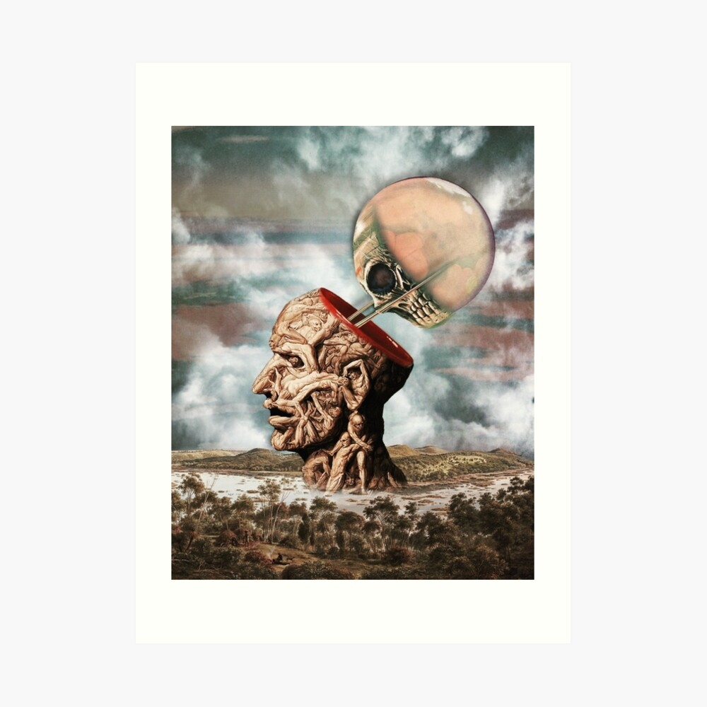 I Have Cultivated My Hysteria With Pleasure And Terror Art Print