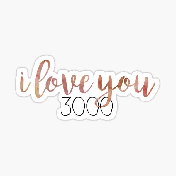 3000 Sticker