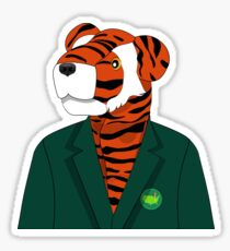 Tiger Woods Head Cover Wearing Masters Green Jacket Sticker