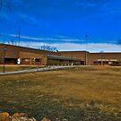 Powder River County (Montana) Court House by Bryan D. Spellman