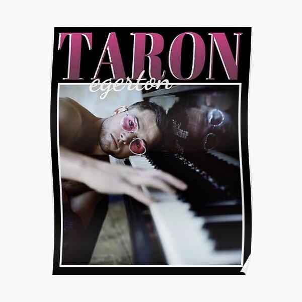 Années 90 Vintage Taron Poster