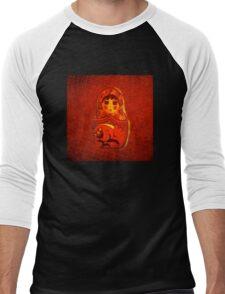 BABOOSHKA! BABOOSHKA! BABOOSHKA! WOW-WOW ... Men's Baseball ¾ T-Shirt