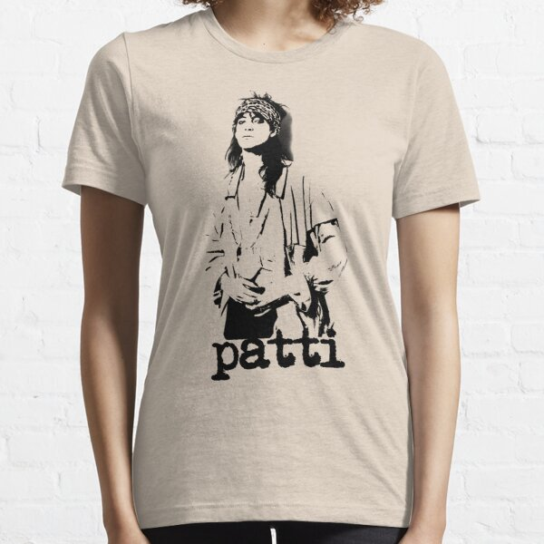 patti smith - pochoir noir T-shirt essentiel