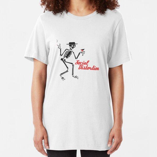 Recent Social Distortion Slim Fit T-Shirt