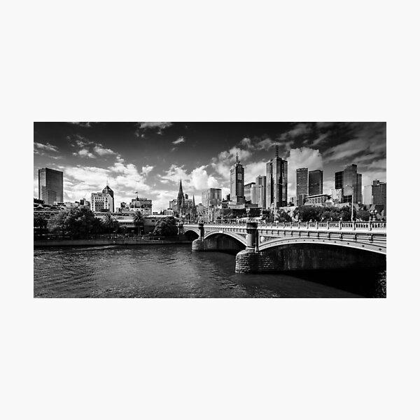 Melbourne  Photographic Print