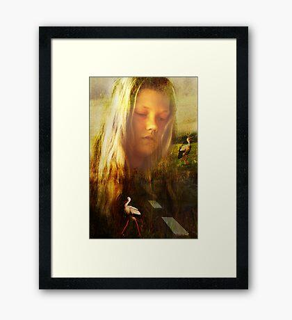 Marija Framed Print