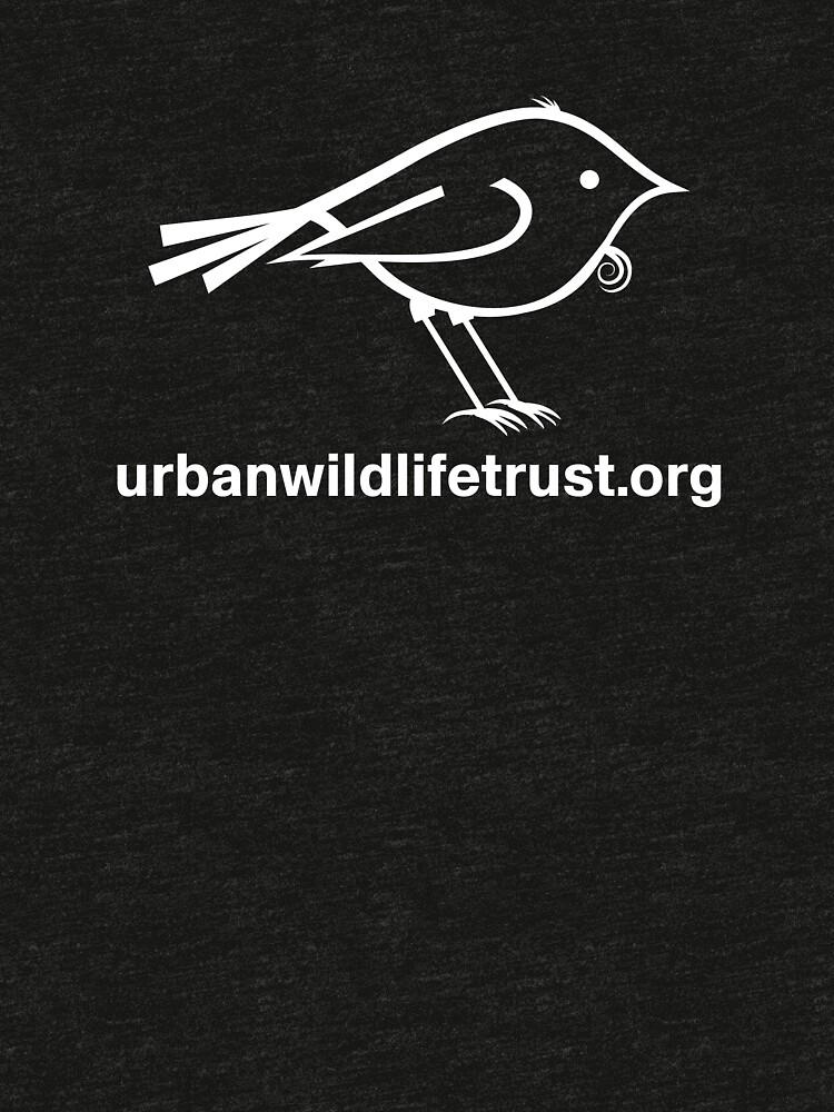 Urban Wildlife Trust Tui Logo (white) by UrbanWildlife