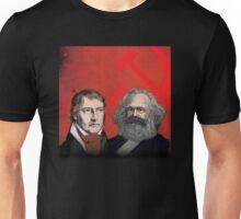 HEGEL AND MARX, communist philosophers Unisex T-Shirt