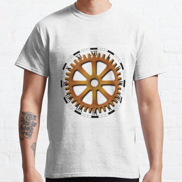 Roman Numeral #Clock Face #ClockFace #NumeralClockFace #RomanNumeralClockFace Classic T-Shirt
