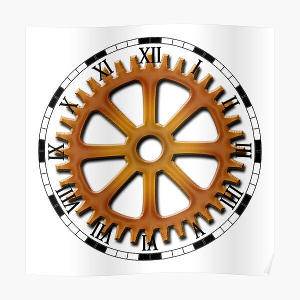 Roman Numeral #Clock Face #ClockFace #NumeralClockFace #RomanNumeralClockFace Poster
