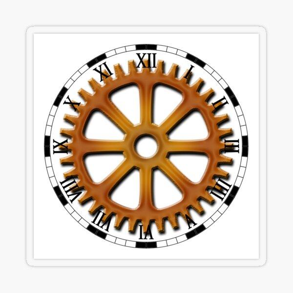 Roman Numeral #Clock Face #ClockFace #NumeralClockFace #RomanNumeralClockFace Transparent Sticker