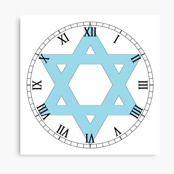 Roman Numeral #Clock Face #ClockFace #NumeralClockFace #RomanNumeralClockFace Canvas Print