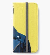Robert Downey Jr. - Niedriger Polyvektor iPhone Flip-Case/Hülle/Klebefolie
