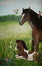 Horse and Fairy  by Wendy Crouch