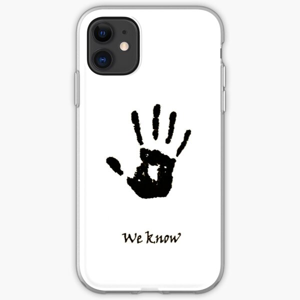 Dark Brotherhood Knows.. You've been Bad! iPhone Soft Case