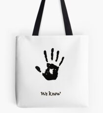 Dark Brotherhood Knows.. You've been Bad! Tote Bag