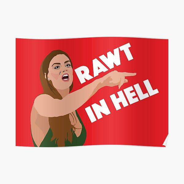 BRITTANY CARTWRIGHT - Rawt In Hell - Vanderpump Rules (VPR) Poster