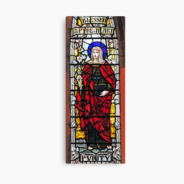 Stained Glass Window 0007 Canvas Print