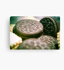 Oreo Biscuits Canvas Print