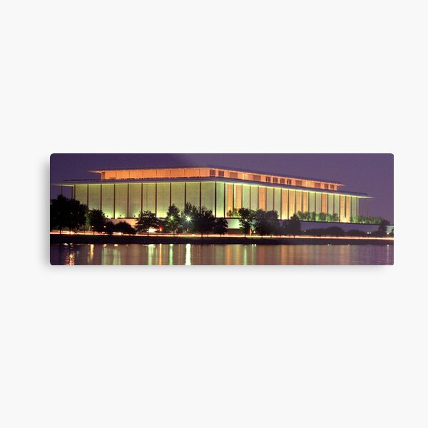 The Kennedy Center for the Performing Arts Metal Print