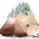 « Forêt endormie » par Threeleaves
