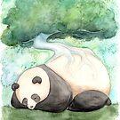« Panda Dormant » par Threeleaves