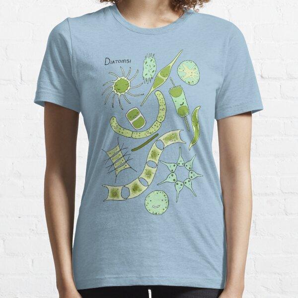 Diatoms Essential T-Shirt