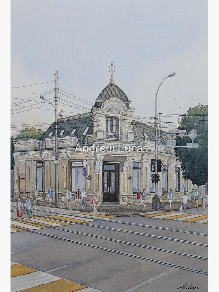 The Old Pharmacy Krasnaya Street Krasnodar Art Board Print By Rafterman Redbubble